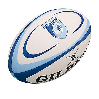 GILBERT cardiff blues mini rugby ball
