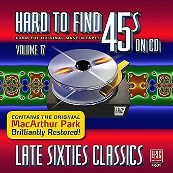 Various Artist - Hard to Find 45's on CD V17 [CD] USA import