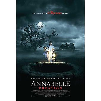 Annabelle creación Movie Poster (11 x 17)