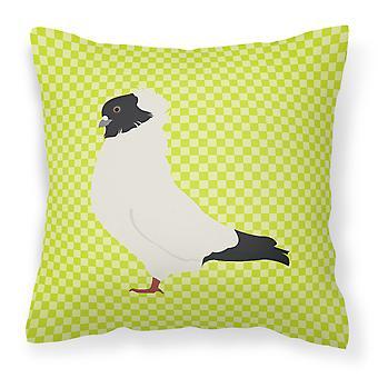 Carolines Treasures  BB7778PW1414 Nun Pigeon Green Fabric Decorative Pillow