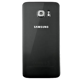 Samsung Galaxy S7 Edge Batterij Cover Zwart - originele kwaliteit - met camera lens+ cover