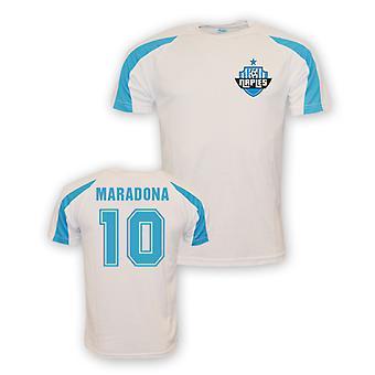 Diego Maradona Napoli maillot de formation sport (blanc) - Kids