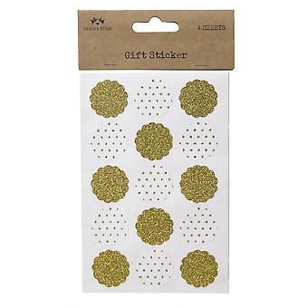 Flower Gift Sticker Set (4 Sheets)