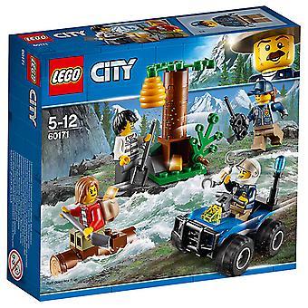 LEGO 60171 City politi bjerg flygtninge
