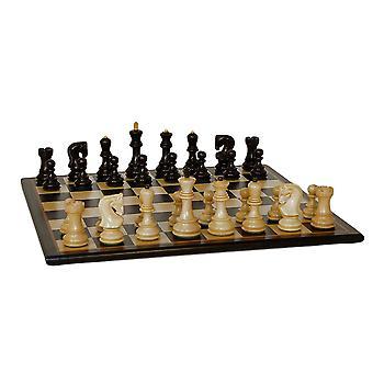 黑俄罗斯国际象棋设置黑鸟眼枫叶板