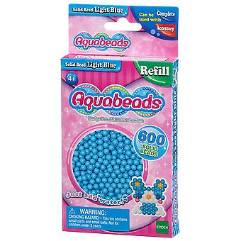 Aquabeads Solid kraal Pack - lichtblauw
