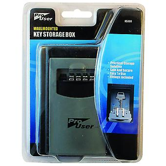 ProUser BB-KS400 Wall Mounted Key Storage Box