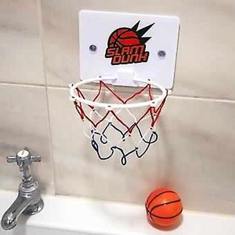 Bad tid Basketball Hoop 2 svævende bolde Slam Dunk badekar legetøj Xmas