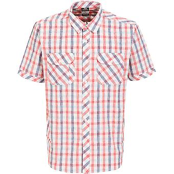 Trespass Mens Hopedale Woven 100% Cotton Chest Pocket Button Shirt