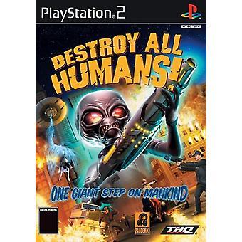 Destroy Alle Mennesker (PS2) - Ny fabrik forseglet