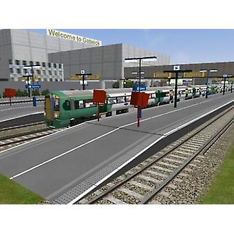 London City South Coast Add-on för MS Train Simulator (PC CD)-ny