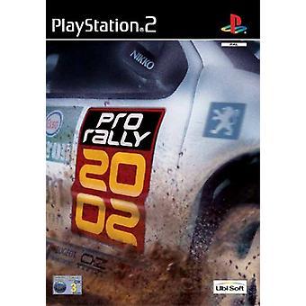 Pro Rally 2002 (PS2) - Nieuwe fabriek verzegeld