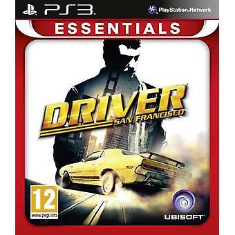 Driver San Francisco PlayStation 3 Essentials (PS3) - Uusi