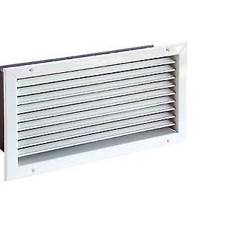 Rejilla de ventilación ajustable CasaFan LG M acero