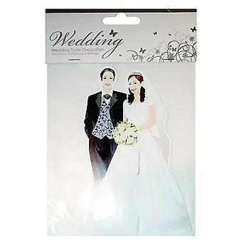 Sifcon Bride And Groom Wedding Table Decoration