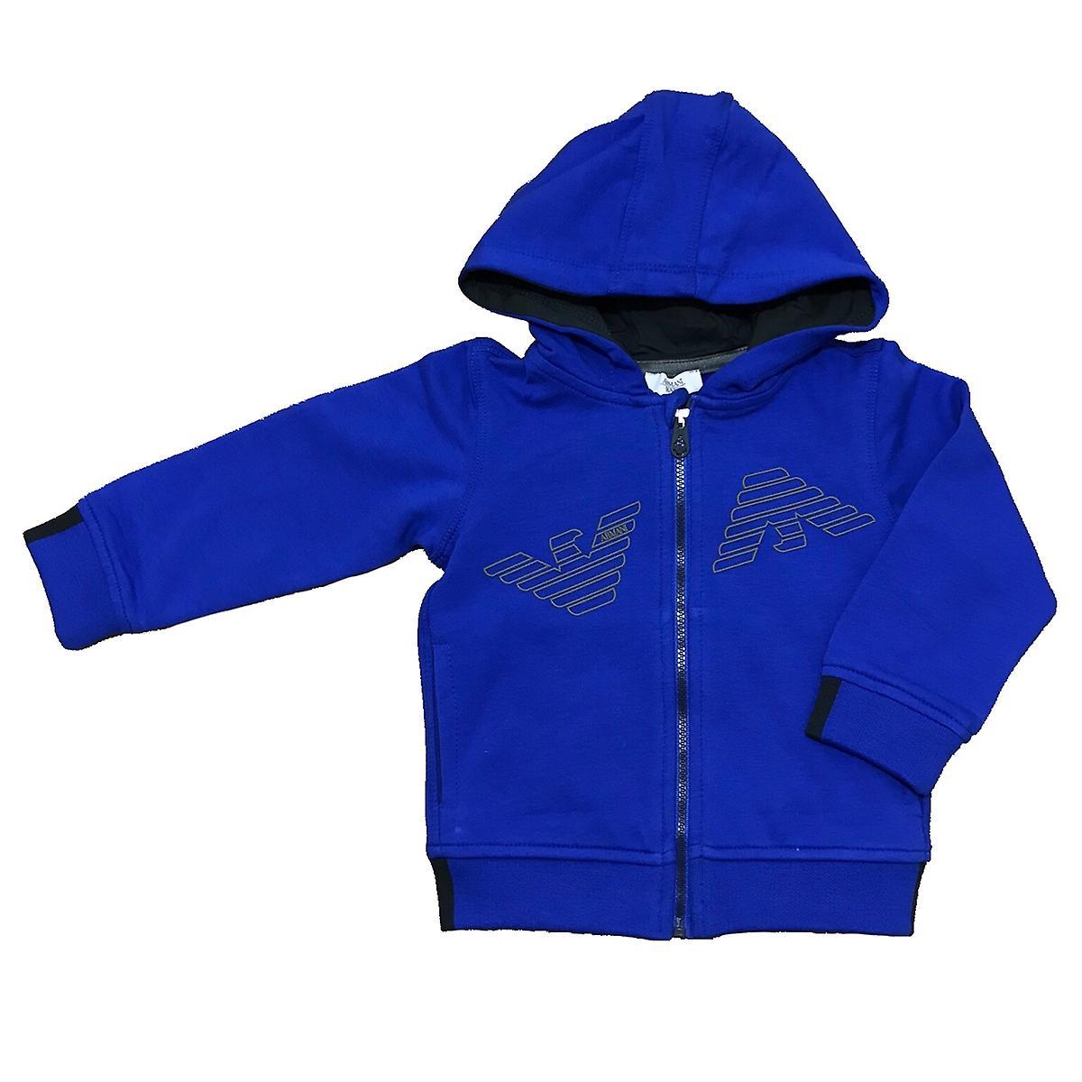 Armani Junior Boys Hooded Jacket