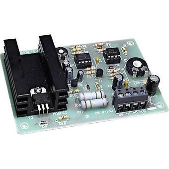 Conrad Components 196460 DC speed controller Assembly kit 9 V DC, 12 V DC, 16 V DC 5 A