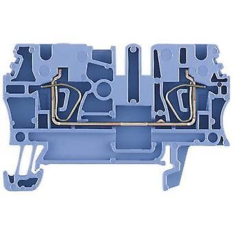 Weidmüller 1632060000 ZDU 4 BL 0.5 - 6 mm² Blue