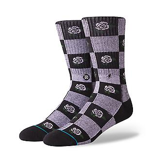Stance Rose Budz Crew Socks in Black