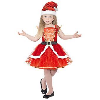 Kinder Kostüme Luxus Weihnachten Kleid für Mädchen