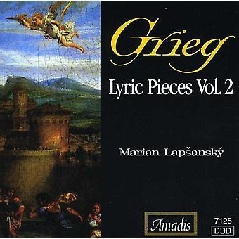 E. Grieg - Grieg: Lyrische stukken, Vol. 2 [CD] USA import
