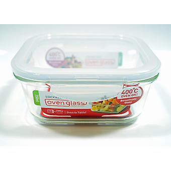 Lock & Lock Ovenglass 750ml Square Glass Container