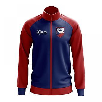 Czech Republic Concept Football Track Jacket (Blue) - Kids
