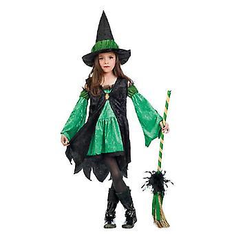 Costume enfant fille costume sorcière verte enfant costume sorcière costume de sorcière