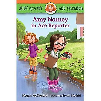 Amy Namey i Ace Reporter (Judy Moody och vänner)