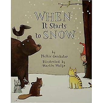 Wanneer het begint te sneeuw (een Owlet boek)