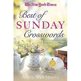 Den New York Times bästa av söndag korsord: 75 söndag pussel från sidorna av New York Times
