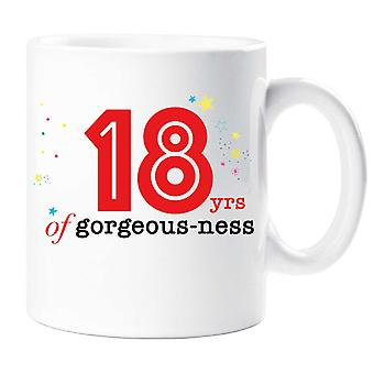 18 Years Of Gorgeous ness Mug