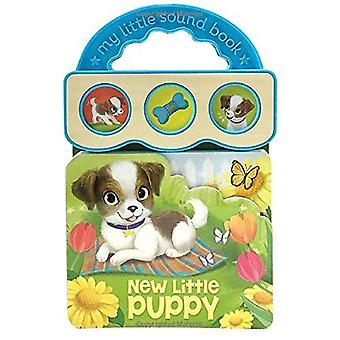 New Little Puppy: Sound Book Wood Module with Handle (Early Bird 3b Sound) [Board book]