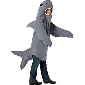 Costume adulto di squalo - 11145