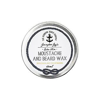 The Brighton Beard Company Extra Firm Moustache Wax - Mandarin and Cedarwood - 60ml