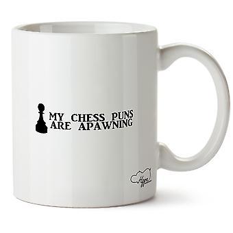 Hippowarehouse miei giochi di parole di scacchi sono Apawning stampato Mug tazza ceramica 10oz