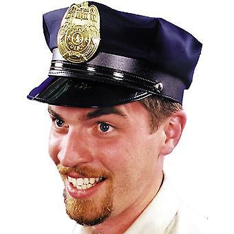 Polisen Hat Navy 1 storlek för vuxna