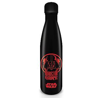 Star Wars Bouteille d'eau Dark Vador noir, imprimé, en acier inoxydable, douille÷v. 500 ml..