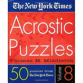 New York Times Acrostic gåder bind 8