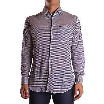 Ballantyne Ezbc099015 Men's Blue Linen Shirt