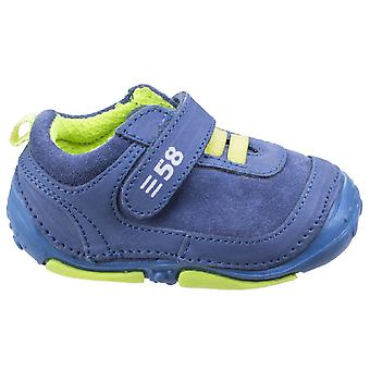 Hush Puppies Boys Harry Pre-walkers Blue F Fitting