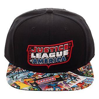 DC Justice League Classic Snapback Cap