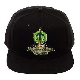 Ready Player One Gregarious Games Black Snapback Cap