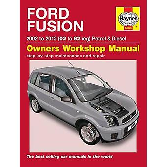 Ford Fusion Owners Workshop Manual - 9781785213168 Book