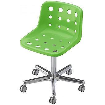Loft Robin Day 5 Star Green Plastic Polo Chair