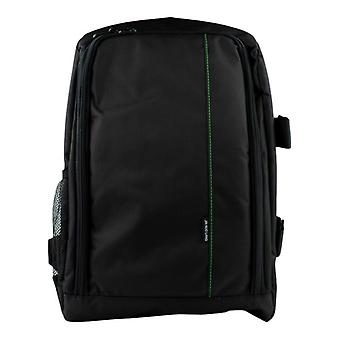 Camera backpack with rain cover-green