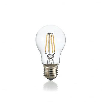Ideal Lux Light Bulb Classic E27 8W Goccia Transparent 3000K