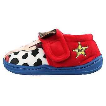 Toy Story Woody Boys Lihir Low Top Slippers UK Sizes Child 6-12