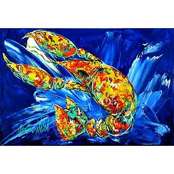 Carolines Treasures MW1228PLMT ikke din Plano Crawfish Fabric Placemat
