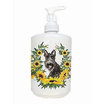 Carolines Treasures  CK2963SOAP Scottish Terrier Ceramic Soap Dispenser